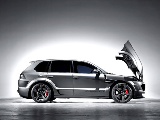 Ателье Gemballa показало 750-сильный Porsche Cayenne