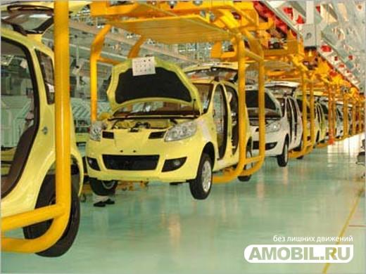 Рост автопроизводства