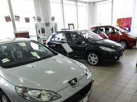 Сокращение продаж автомобильного рынка