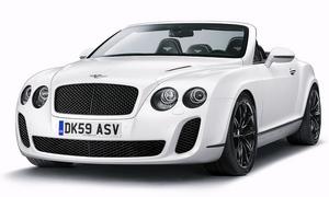 Bentley кабриолет