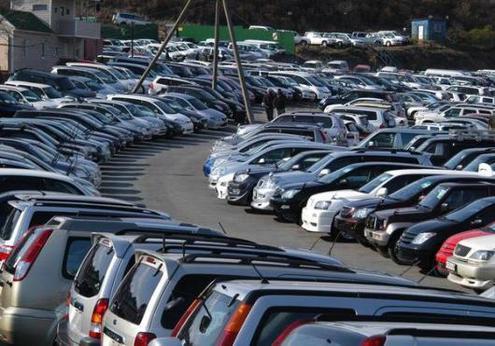 Размер российского парка легковых автомобилей