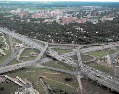Реконструкция развязок в Москве