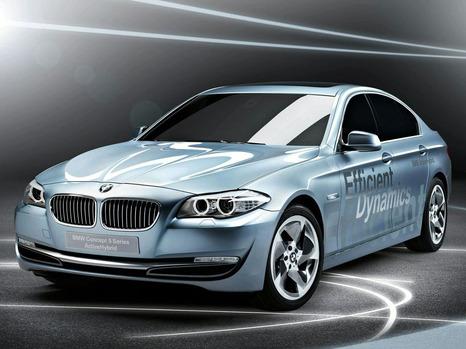 Гибрид BMW 5-Series
