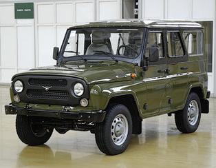 Обновленный УАЗ-469