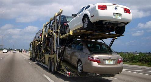 Ввоз автомобилей в Россию