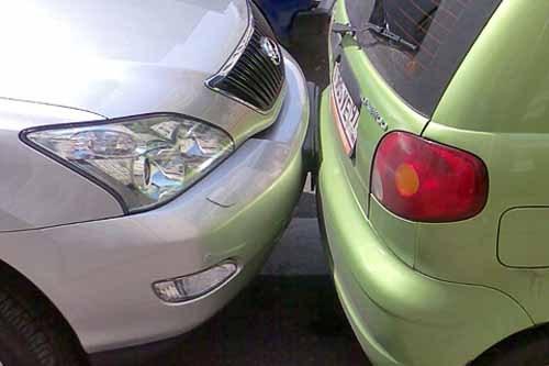 Запрещенная парковка