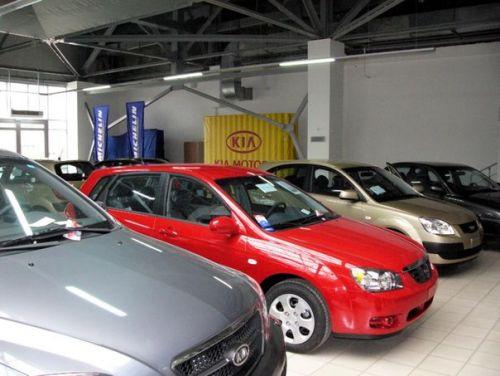 продажи новых авто в Соединенных Штатах