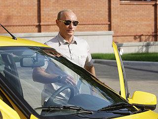 «Лада Калина», за рулем которой Путин