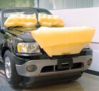Японцы создали наружную подушку безопасности