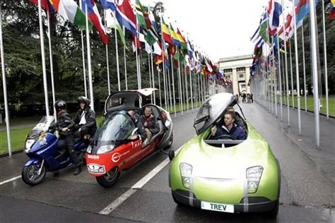 Кругосветная гонка на электромобилях