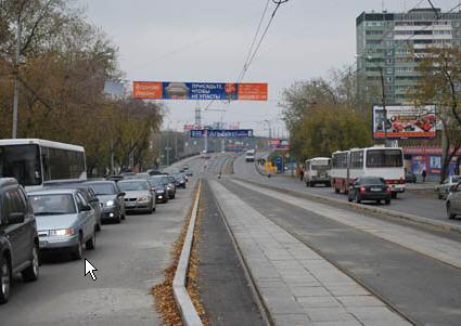 Трамвайные пути Екатеринбурга