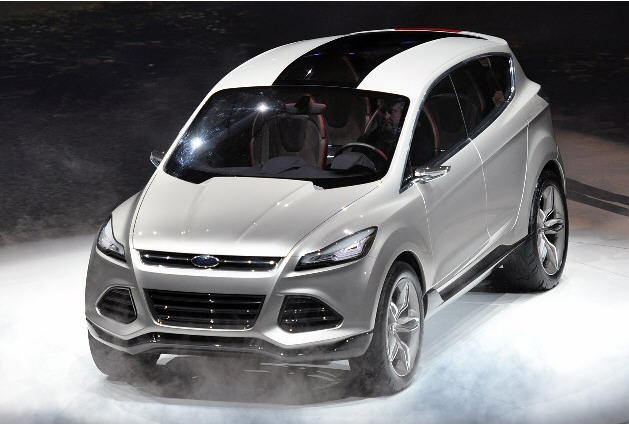 новый кроссовер Ford