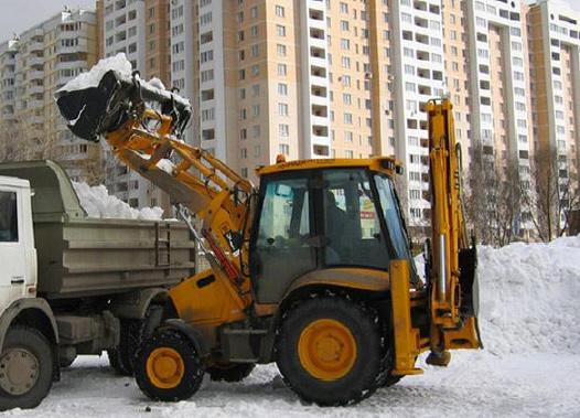 вывозить снег