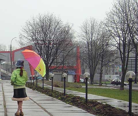 Тепло с кратковременными дождями