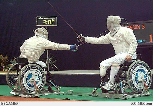 Российская команда фехтовальщиков
