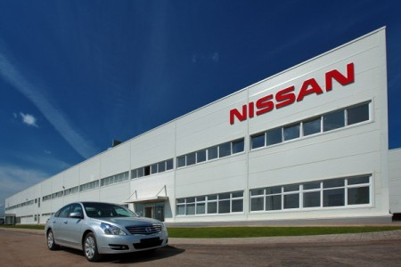 Петербургский завод Nissan