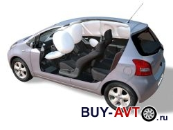 Toyota Yaris подушки безопастности